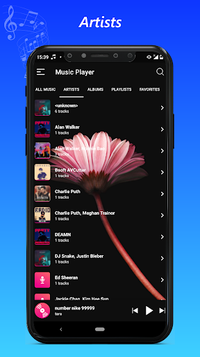 music player  screenshots 2