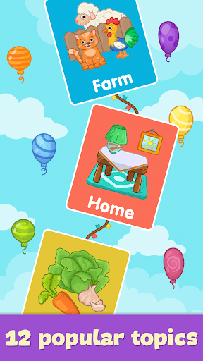 Baby flash cards for toddlers 1.10 Screenshots 14