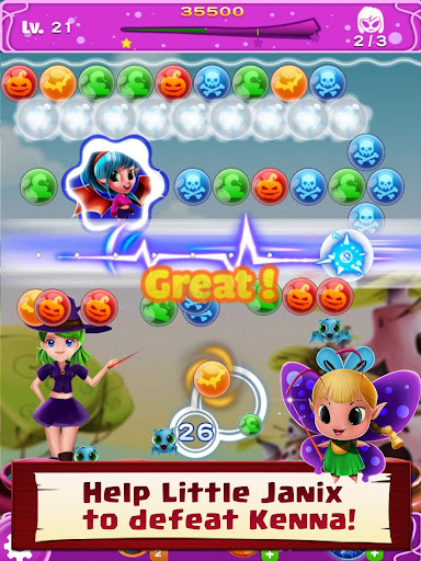 WitchLand - Bubble Shooter 2021 1.0.24 screenshots 15