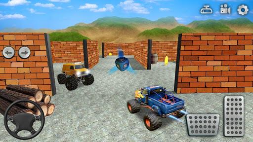 Monster Truck Maze Driving 2020: 3D RC Truck Games  screenshots 4