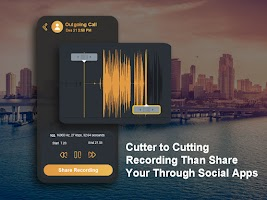 Automatic Call Recorder With Voice Cutter