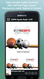 ESPN Sports Radio 97.7/1210 For Pc | How To Use For Free – Windows 7/8/10 And Mac 2