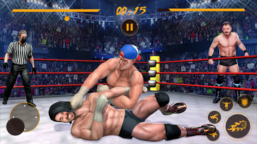 BodyBuilder Ring Fighting Club: Wrestling Games 1.1 Screenshots 5