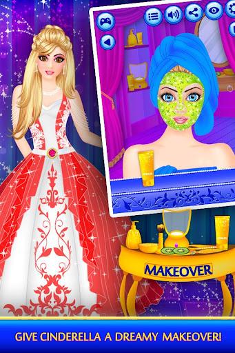 Cinderella Beauty Makeover : Princess Salon 1.8 screenshots 2
