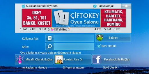 101 Okey Domino hakkarim.net 2.1.2 screenshots 1