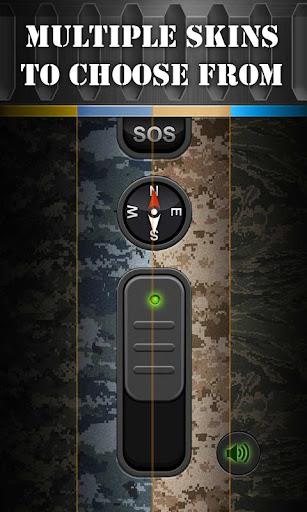 Military Flashlight Free android2mod screenshots 4