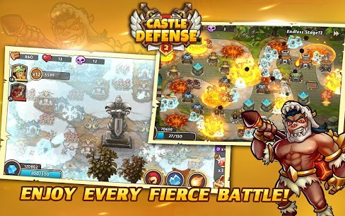 Castle Defense 2 MOD APK (Unlimited Money Unlocked) 1