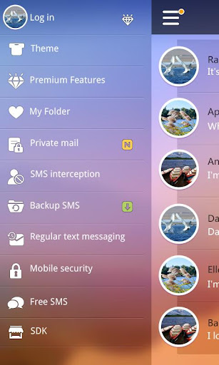 EASE THEME GO SMS PRO EX For PC Windows (7, 8, 10, 10X) & Mac Computer Image Number- 8