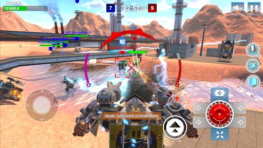 Mech Wars: Multiplayer Robots Battle modavailable screenshots 21