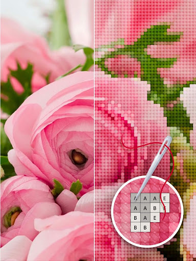 Color by Letter - Sewing game  Cross stitch 1.1.4 Screenshots 7