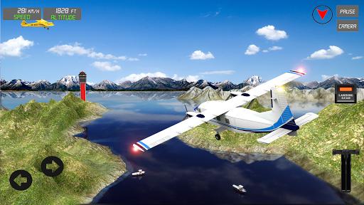 Extreme Airplane simulator 2019 Pilot Flight games 4.3 screenshots 5