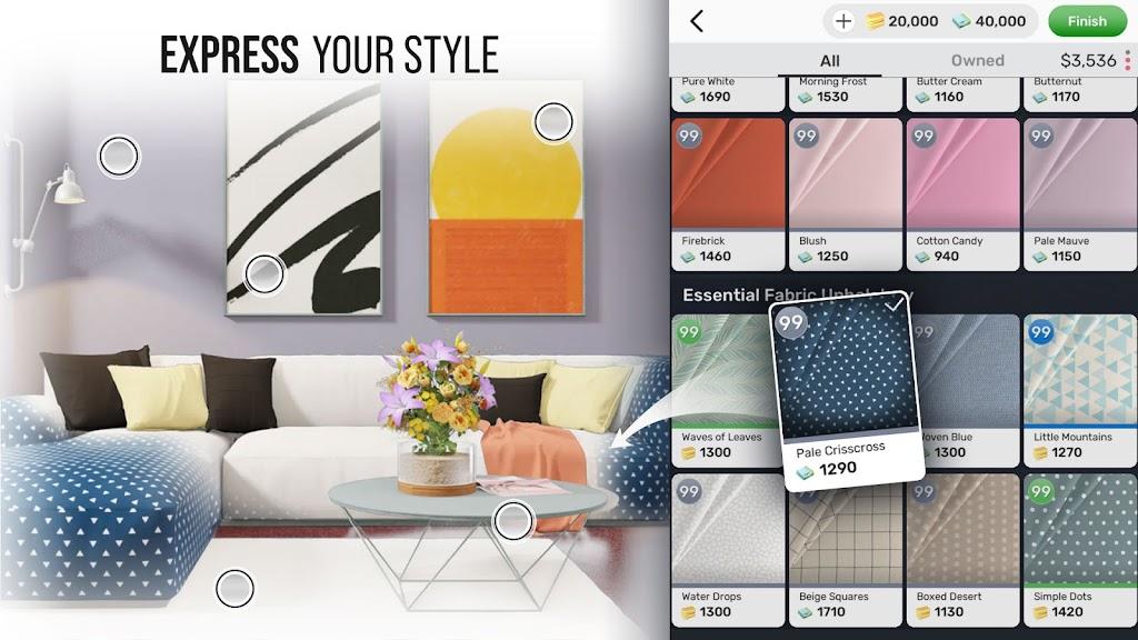 Home Design Star : Decorate & Vote poster 9