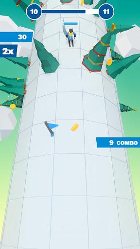 Code Triche Chilly Slide: A Geometry Slalom Winter Games Saga mod apk screenshots 1