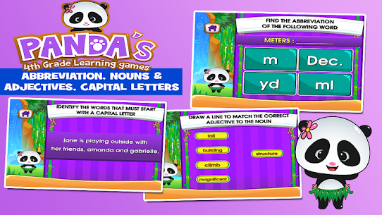Panda 4th Grade Learning For Pc [free Download On Windows 7, 8, 10, Mac] 2