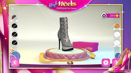 High Heels Designer Girl Games  Screenshots 4