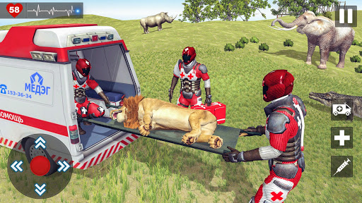 Animals Rescue Game Doctor Robot 3D  screenshots 13