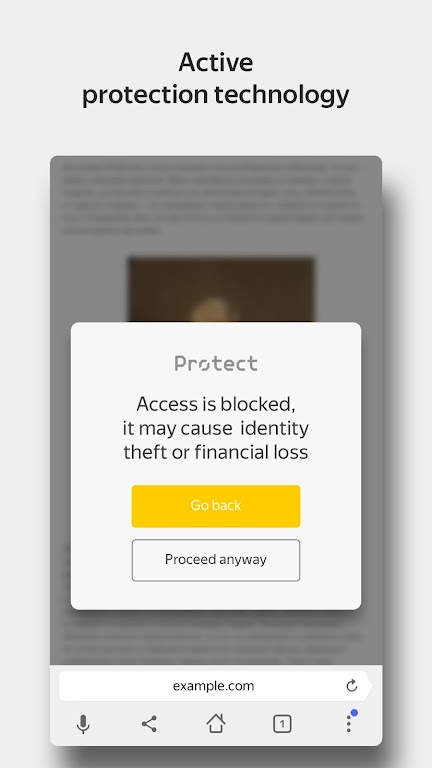 Yandex Browser with Protect  poster 5