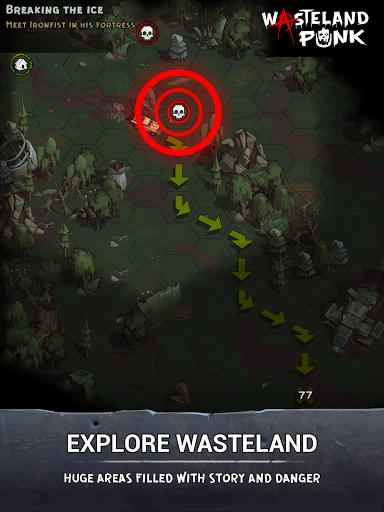 Wasteland Punk: Post Apocalypse RPG Survival Game  screenshots 15