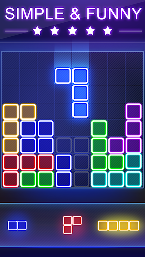 Glow Block Puzzle apktram screenshots 10