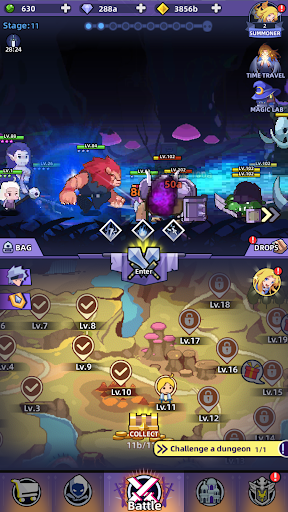 Code Triche Idle Summoner : Grand Battle (Astuce) APK MOD screenshots 2