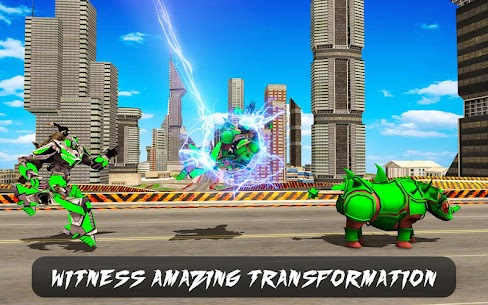 Rhino Robot Car Transformation 2020. 0.2 (MOD + APK) Download 2