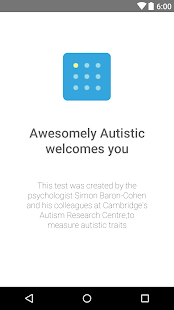 Awesomely Autistic Test Screenshot
