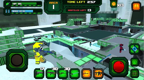 Rescue Robots Sniper Survival Screenshot