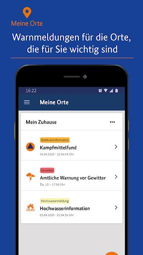 NINA - Die Warn-App des BBK 3.3.0.2980 screenshots 1