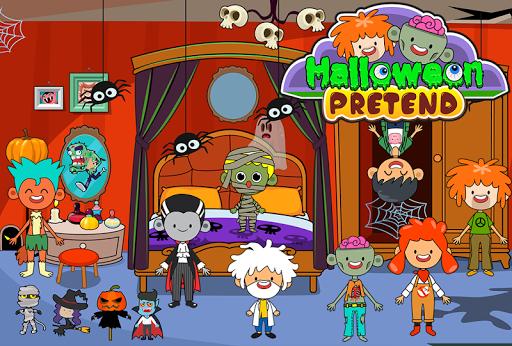 My Pretend Halloween - Trick or Treat Town Friends Apkfinish screenshots 5