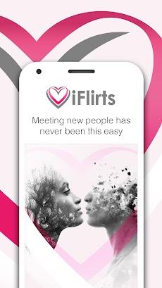 iFlirts – Flirt, Dating & Chatting for Singlesのおすすめ画像1