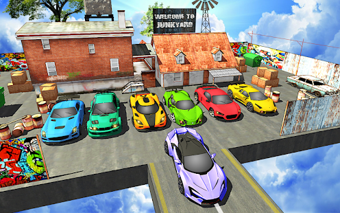 Extreme Jeep Stunts -Mega Ramp-Free Car Games 2021 4.4 Screenshots 12