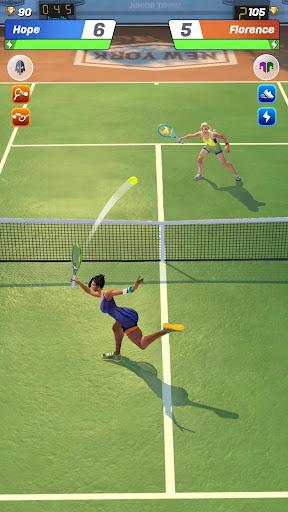 Tennis Clash: 3D Sports - Jeux Gratuits APK MOD (Astuce) screenshots 3