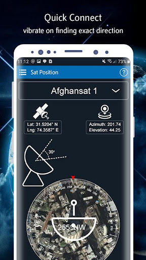 Satellite Finder (Area Calculator) Dish Pointer 1.0.6 Screenshots 18