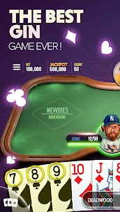 Gin Rummy Extra MOD APK (Unlimited Coins) Download 1