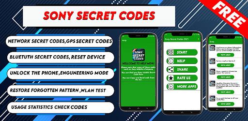 Sony Secret Codes 2021 Secret Codes Of Sony 2021 التطبيقات على Google Play