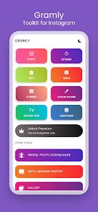 Gramly – Toolkit For Instagram MOD APK 1