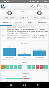 Football Live Scores 1900.0 Screenshots 3