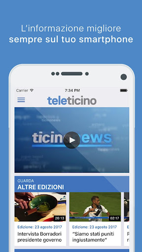 TeleTicino 3.4.1 screenshots 3