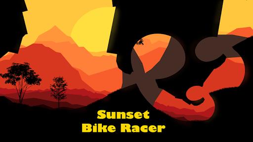 sunset bike racer - motocross screenshot 1