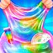 Pastel Rainbow Slime – DIY Makeup