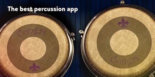 CONGAS & BONGOS: Electronic Percussion Kit apktram screenshots 1
