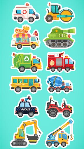 CandyBots Cars & Trucks🚓Vehicles Kids Puzzle Game  screenshots 2