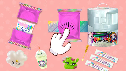 unicorn poop: doll slime surprise simulator screenshot 2