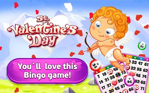 Bingo St. Valentine's Day