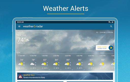 Weather & Radar - Storm radar apktram screenshots 11