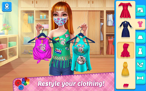 DIY Fashion Star - Design Hacks Clothing Game 1.2.3 screenshots 1