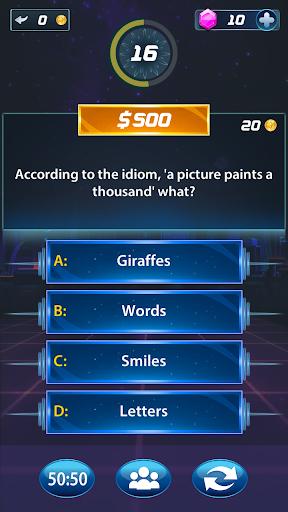 Millionaire Trivia GK android2mod screenshots 3