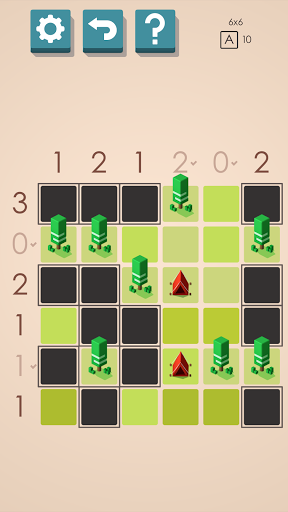 Tents and Trees Puzzles 1.6.26 screenshots 1