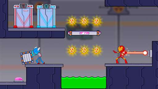 Fire and Water Stickman 2 : The Temple  screenshots 1