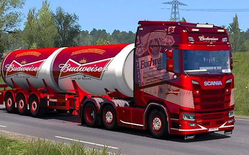 Euro Truck Driving Simulator Game 1.4 screenshots 1